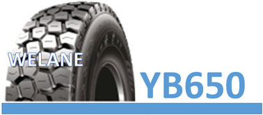 China 11.00R20 / 12.00R20 Truck Bus Radial Tyres Wear Resistant With Tube YB650 Model factory