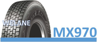 China Sideslip Resistance Large Truck Tires , 12.00R22.5 / 16PR18PR Heavy Load Tires factory