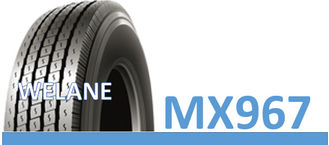 China Express Way 11R 22.5 Truck Tires , 215 / 75R17.5 Light Truck Tyres MX967 Model factory