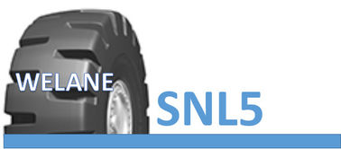 China 35 / 65 - 33 Off Road Truck Tyres For Coalfields / Construction Sites TT / TL Type SNL5 Pattern factory
