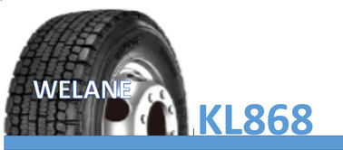 China 295 / 80R22.5 Radial Winter Snow Tyres PR18 / PR20 High Grasp Ability KL868 Model factory